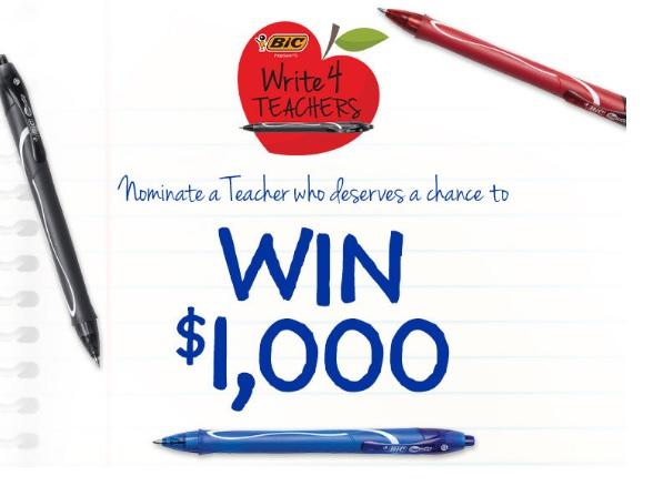 IHeartMedia Write4Teachers Contest