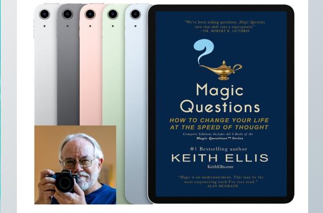 Keith Ellis Summer 2021 IPad Air Magic Questions Giveaway