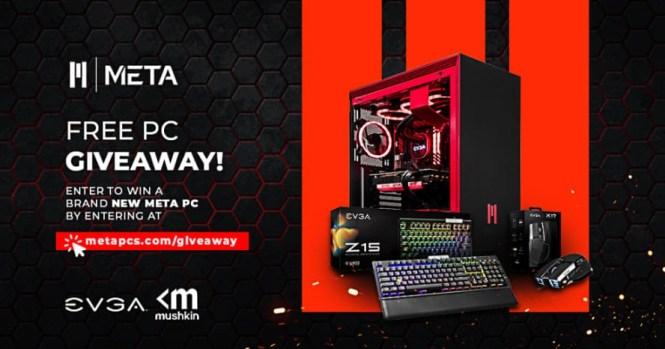 META PCs Custom Gaming PC Giveaway - Win META Gaming PC.