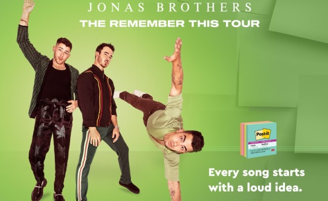 Post-it Brand and Jonas Brothers Concert Giveaway