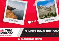Tire Kingdom TBC Summer Road Trip Sweepstakes