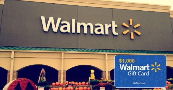 2021 Walmart August – October Sweepstakes
