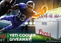 Cooler With Coors Light YETI Giveaway