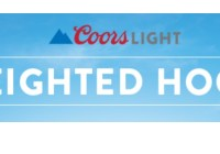 Coors Light Weighted Hoodie Sweepstakes
