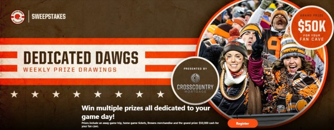 CrossCountry Mortgage Dedicated Dawgs Sweepstakes