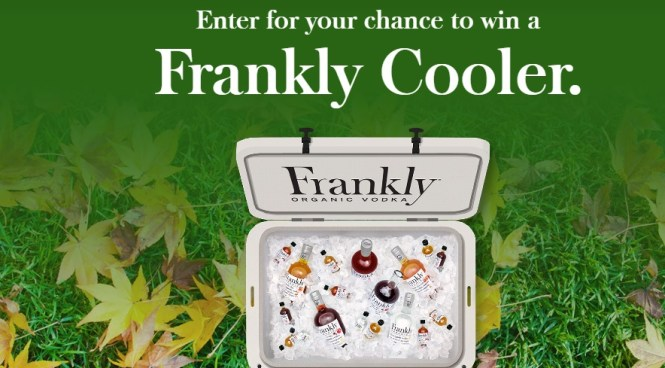 Frankly Vodka Cooler Sweepstakes