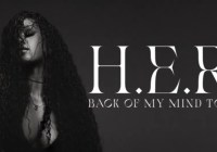 H.E.R. Back Of My Mind Tour Sweepstakes