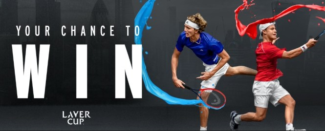HEAD Laver Cup Sweepstakes