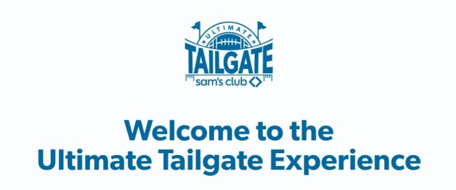 Sam Club Ultimate Tailgate Sweepstakes