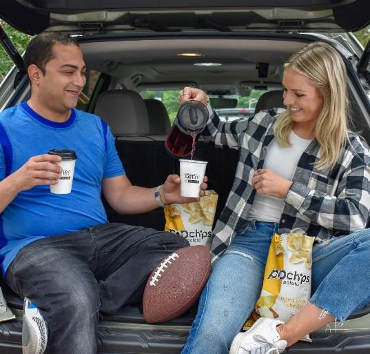 Tiesta Tea and Biena Snacks Tailgate Season Giveaway