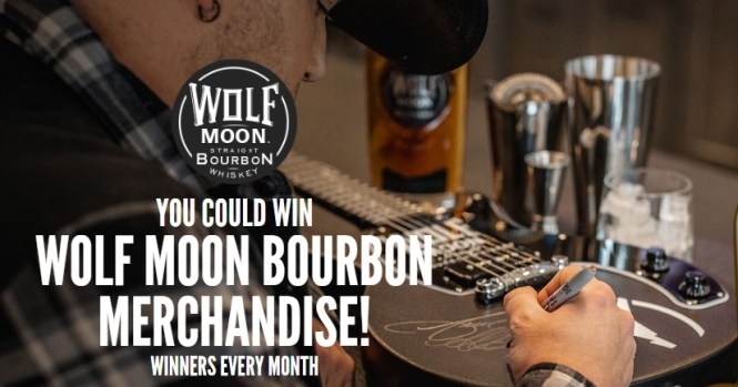Wolf Moon Bourbon Monthly Giveaway Sweepstakes