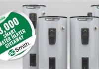 Acton Media Bob Vila Smart Water Heater Sweepstakes