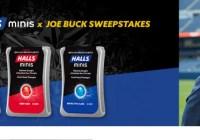 HALLS Minis X Joe Buck Sweepstakes