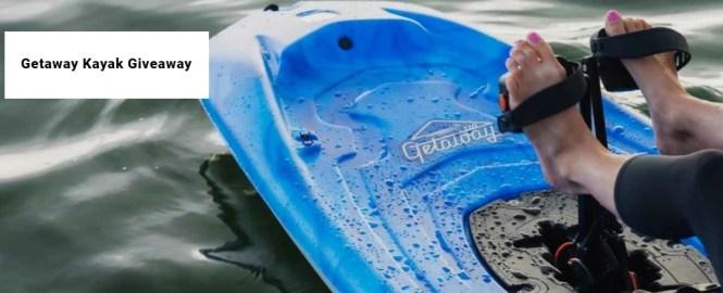 Pelican Sport Getaway Kayak Giveaway