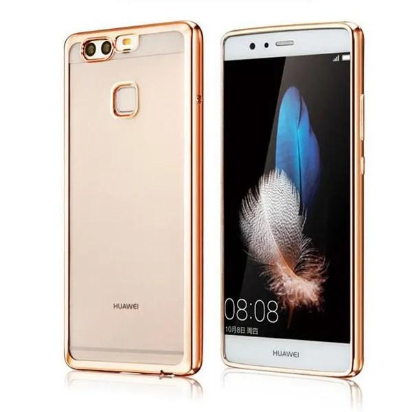 For Huawei P10 Lite P10 Case P10 Plus Plating Bumper Soft Tpu Scratch Proof Phone Case For Huawei P9 Lite