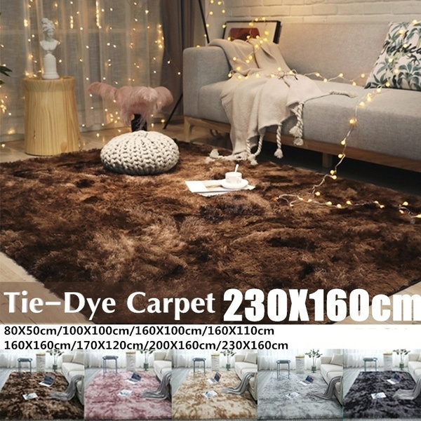 Oversize Fluffy Shaggysoft Area Shag Rugs For Living Room Large Size Anti Slip Bedroom Study Corridor Soft Carpets Child Bedroom Mat 2 Types 13 Colors Wish