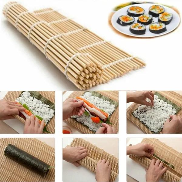 sushi maker kit rice roll bamboo mold