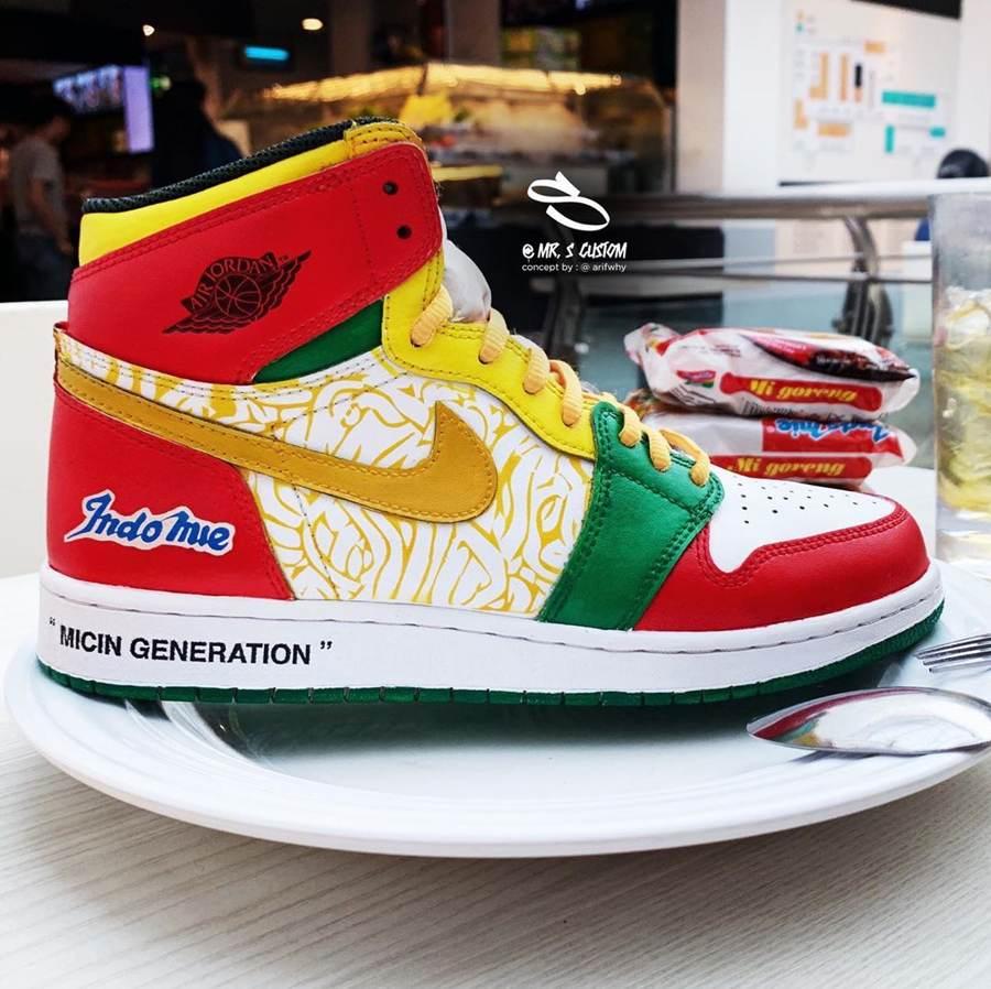 Limited Edition Indomie Air Jordan Shoes
