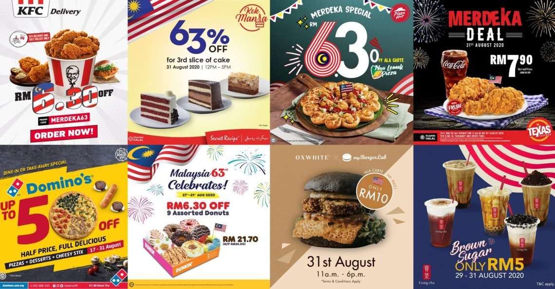 Celebrate Malaysia S 63rd Birthday With These Promotions This Weekend