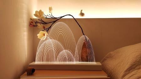 Guilin Lamp: sim, isto é um purificador de ar, com luzes e design - Reprodução