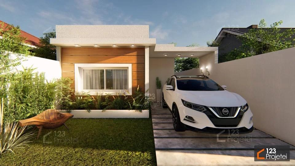 Read more about the article Projeto pequeno: #338 é um projeto de casa térrea de apenas 58m²