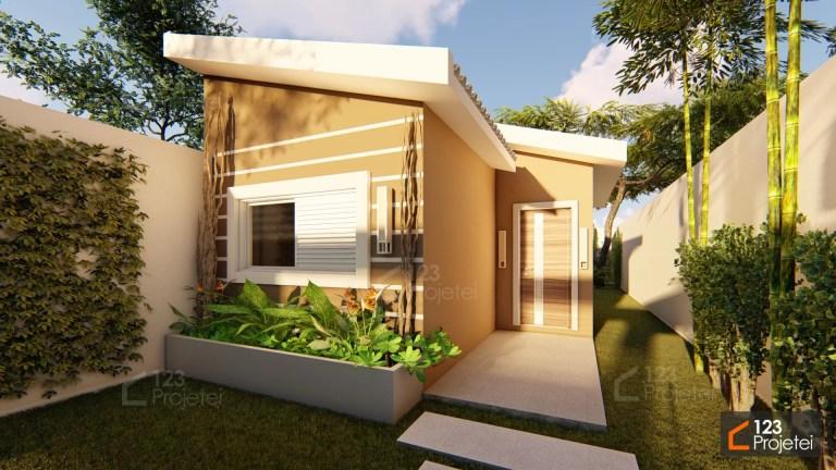 Read more about the article Projetos para casas pequenas: plantas de até 60m²