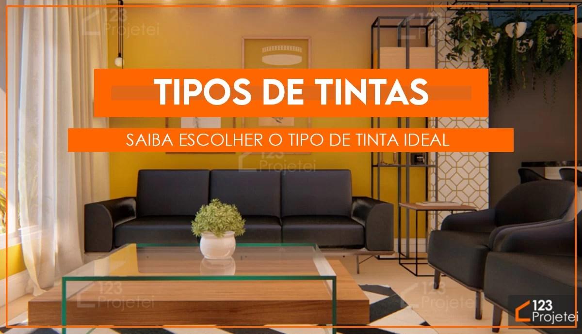 Read more about the article Tipos de Tinta: Saiba escolher o tipo ideal para você