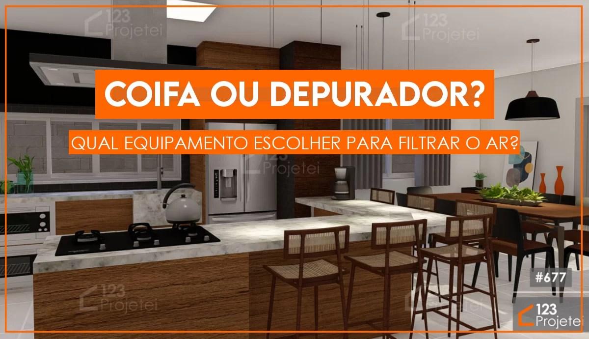 Read more about the article Diferença entre coifa e depurador: qual escolher?