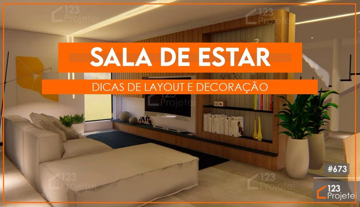 Read more about the article Sala de estar: confira dicas de layout e decoração para esse cômodo