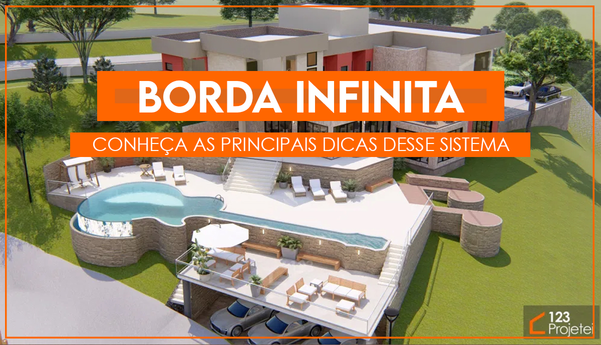 Read more about the article Piscina com borda infinita