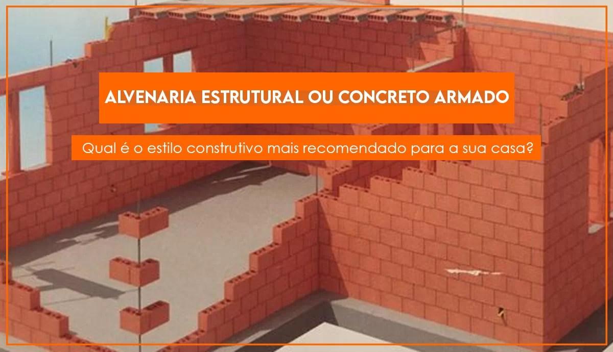 Read more about the article Alvenaria estrutural ou concreto armado? Qual estilo construtivo é recomendado?