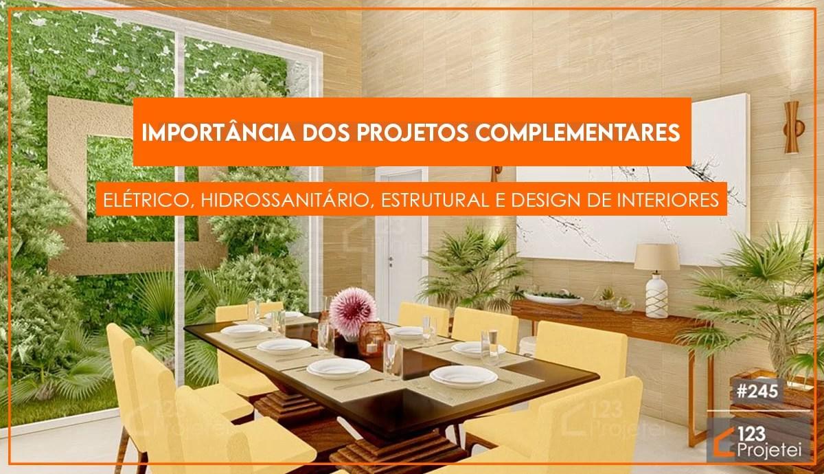 Read more about the article Importância dos projetos complementares: elétrico, hidro, estrutural e design
