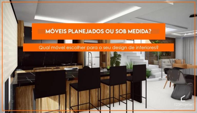 Read more about the article Móveis planejados ou móveis sob medida? Qual é a melhor opção?