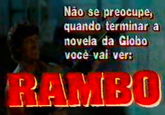 """O dia em que a Globo usou """"Vale Tudo"""" para prejudicar """"Rambo"""" no SBT - Blog  do Nilson Xavier - UOL"""