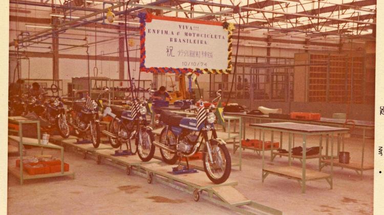 """RD 50 a primeira moto """"made in Brazil"""" - Divulgação/Yamaha - Divulgação/Yamaha"""