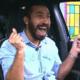 BBB 21: Gilberto vibra após conquistar a liderança - Reprodução / Globoplay