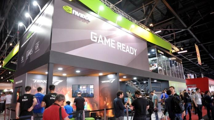 Estande da Nvidia na BGS 2017