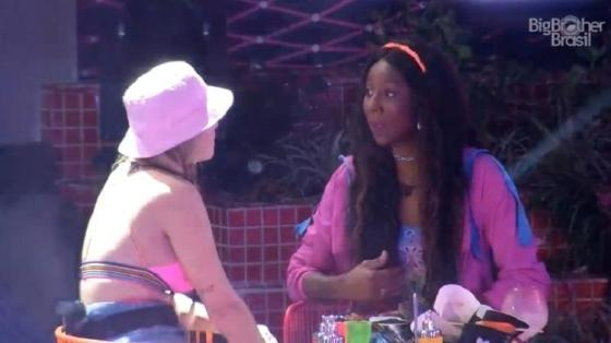 BBB 21: Camilla de Lucas e Viih Tube falam sobre a eliminação de Carla Diaz - Reprodução / Globoplay - Reprodução / Globoplay