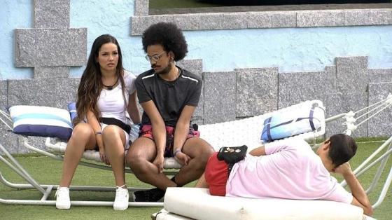 BBB 21: Juliette ventes em conversa com João e Gilberto - Reprodução / Globoplay - Reprodução / Globoplay