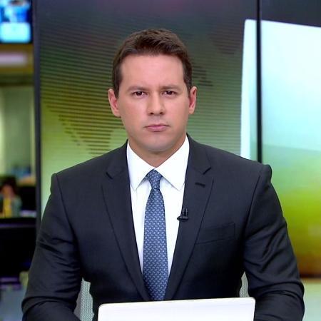 Dony De Nuccio leads 'Jornal Hoje' on TV Globo - Reproduction/TV Globo - Reproduction/TV Globo