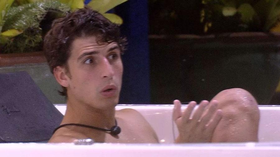 BBB 20: Felipe fala de Hadson - Reprodução/Globo
