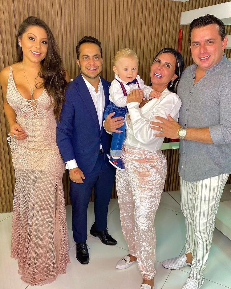 Andressa Miranda showed family reunited on social networks - Reproduction/Instagram @andressaferreiramiranda - Reproduction/Instagram @andressaferreiramiranda