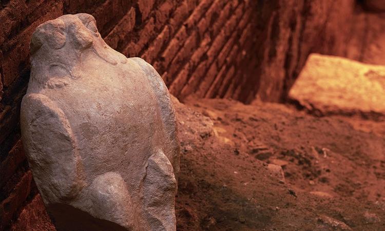 Vicus Caprarius, archaeological site under the Trevi Fountain (4) - Press Release/Vicus Caprarius - Press Release/Vicus Caprarius