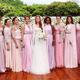 Marina Ruy Barbosa with her bridesmaids - Reproduction / Instagram / Cissa Sannomiya