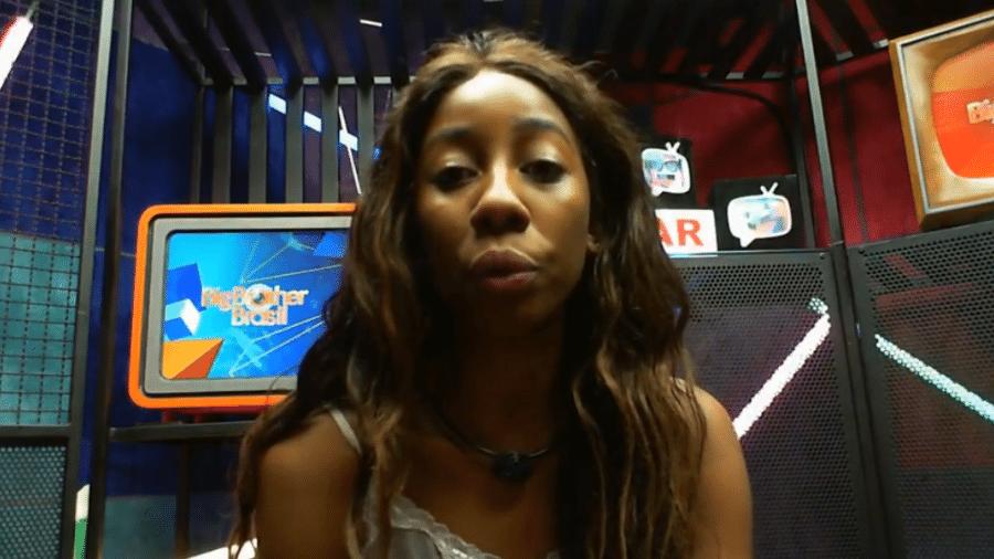 BBB 21: Camilla critica perguntas de Tiago Leifert  - Reprodução/Globoplay