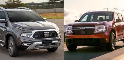 Ford Maverick: como nova picape se sai diante da rival Fiat Toro