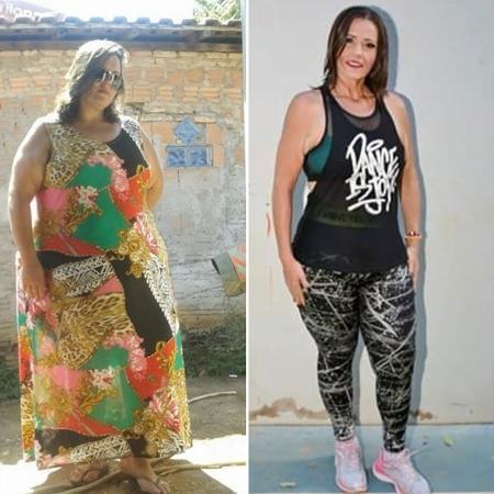 """como emagreci chrys 2 1573070583423 v2 450x450 - """"Perdi 106 kg quando soube que meu filho sofria bullying devido a meu peso"""": veja trajetória de mãe que deu a volta por cima"""