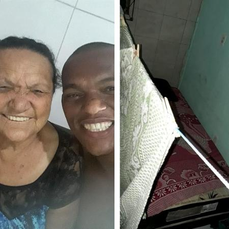 Joseildo - enfermeiro que dorme na varanda - Arquivo pessoal - Arquivo pessoal