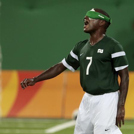 Jefinho, of 5-a-side football - Alexandre Loureiro/Getty Images - Alexandre Loureiro/Getty Images