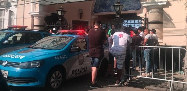 São Januário já conviveu com protestos da torcida do Vasco no mês de setembro
